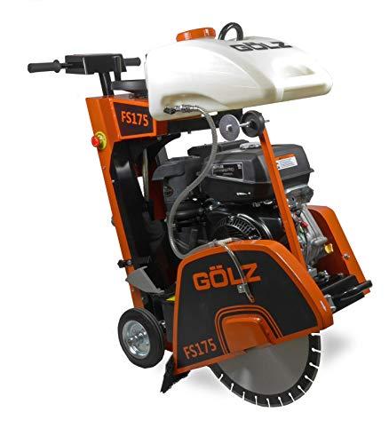 Gölz FS-175 - Sierra para suelos y juntas con motor CH440