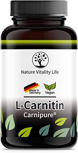 L-Carnitin 3000 – Carnipure® von Lonza - 120 Kapseln - MADE IN GERMANY – laborgeprüft – hochdosiert - vegan