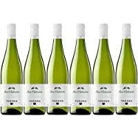 San Valentín, Vino Blanco - 6 botellas de 75 cl, Total: 4500 ml