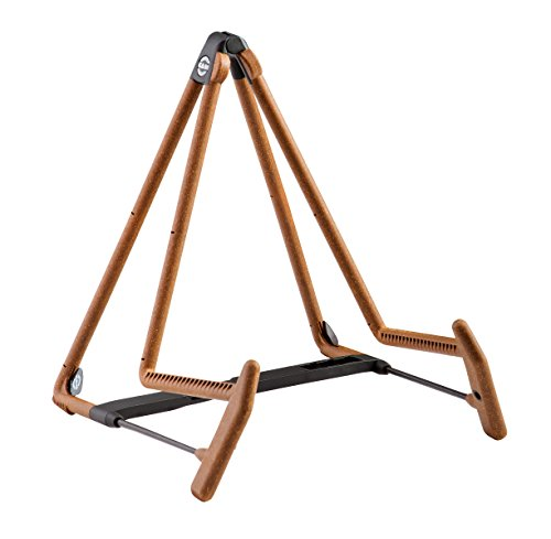K&M Stands 17580C Heli 2 Acoustic Guitar Stand, Cork