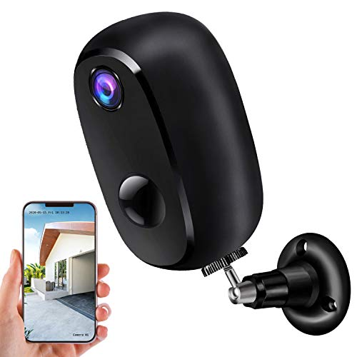 Security Camera Outdoor Wireless, Surveillance Rechargeable Battery-Powered WiFi 1080P Camera 10000mAh, PIR Motion Detection, 2Way Audio, Night Vision...