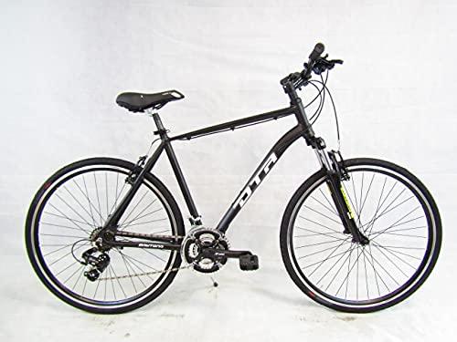 Daytona bici uomo trekking ibrida bicicletta 28 freni a disco forcella ammortizzata 21v