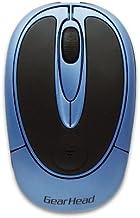 3 Button Wireless Optical Wheel Mouse (Blue) (USB)