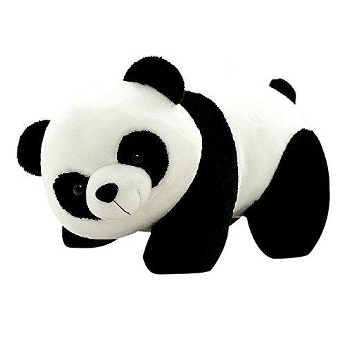 Hunpta @ 20 cm de peluche para niños, simulación de panda, juguete de peluche, muñeca decorativa, para el hogar, cumpleaños, San Valentín, Navidad, regalo creativo para niños y niñas