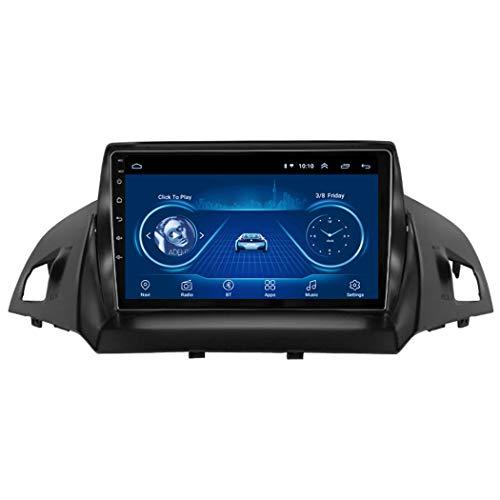 Dr.Lefran GPS-Navigation für Auto, 9 Zoll 2.5D Android 8.1 Auto DVD GPS-Player Für Ford Kuga 2013-2017 Autoradio Stereo Head Unit Navigation,4g+WiFi 1g+16g