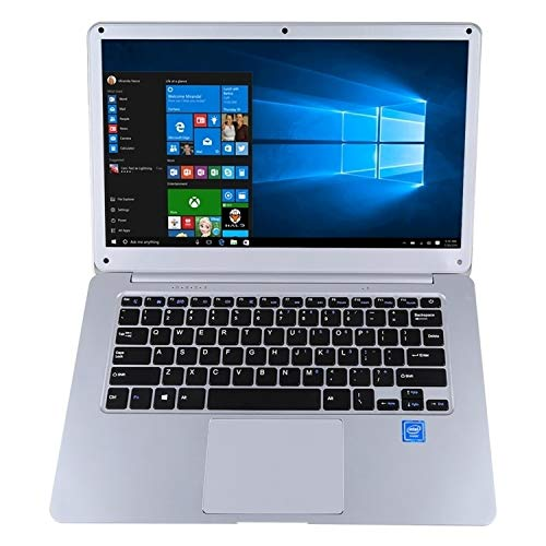 Il computer portatile HPC156 Ultrabook, 15.6 pollici, 4GB + 64GB, Windows 10 Intel X5-Z8350 Quad Core Fino a 1.92Ghz, supporto WiFi etc, US/EU (Color : Silver)