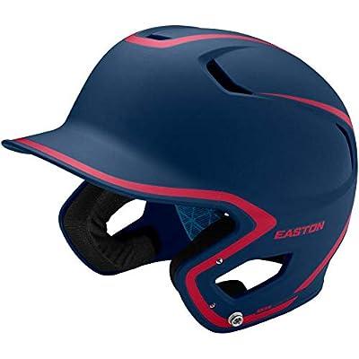 EASTON Z5 2.0 Batting Helmet Matte Two-Tone Series | Baseball Softball | 2020 | Dual-Density Impact Absorption Foam | High Impact Resistant ABS Shell | Moisture Wicking BioDRI Liner | Removable Logo