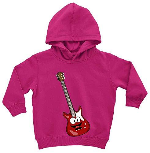 Hariz - Sudadera con capucha para bebé, diseño de guitarra eléctrica con...