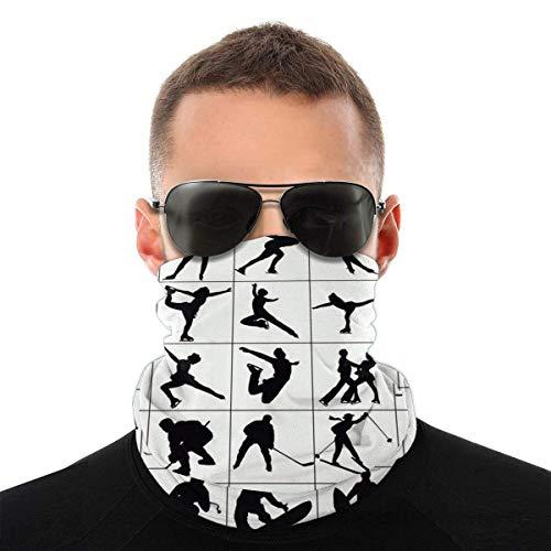 Bandeau, écharpe Bandana sans couture élastique de patinage artistique, série de chapeaux de sport de résistance aux UV pour Yoga randonnée équitation moto