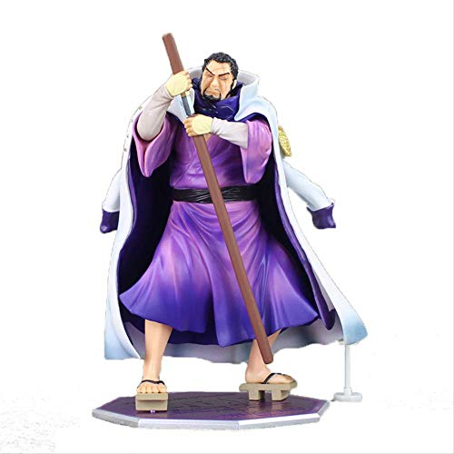 Missyou One PieceFujitoraAction Figure 25Cm, PVC Marine AdmiralIsshoPortrait of Pirates Anime Model Toys