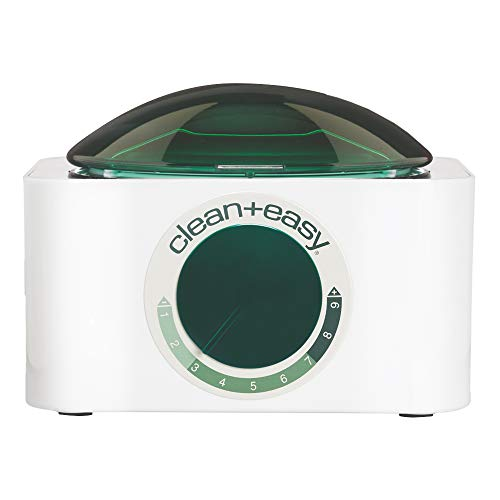 Clean + Easy Deluxe Warmer Only - Thermostatically Controlled Wax Heater with Unique Scraper Preventing Wax Drips for Hygienic Hair Removal Treatment, (120V)