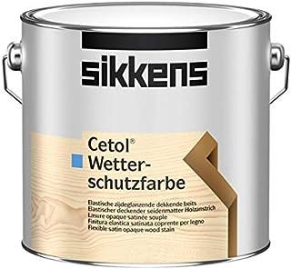 Sikkens Cetol Wetterschutzfarbe W05 Weiß 2,5 L