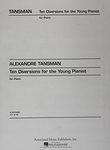 10 Diversions for the Young Pianist: Piano Solo
