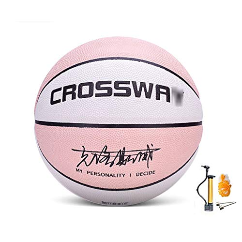 Why Should You Buy YE ZI Basketballs- Street Basketball Indoor and Outdoor No. 5-6-7 Basketball with...