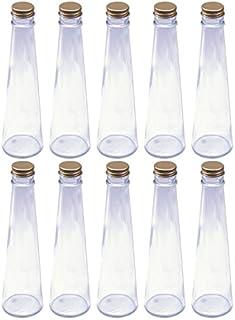 日本製 ハーバリウム 円錐ガラス瓶 200cc 10本セット