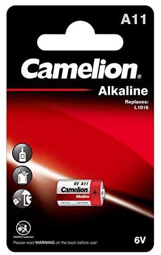 Camelion 11050111–Plus Alkaline Batería sin Mercurio lr1120sw/A/6V, 1er