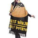 Bufanda Fringe Chal Mujer Patata Bufanda de invierno de Cálido Grueso Otoño Invierno para relleno...