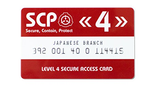 SCP Foundation Secure Access Card Level 4