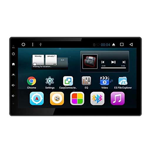 TOPNAVI 10.2 Pouces 2Din stéréo de Voiture Universelle pour Android Android Amovible 7.1 Navigation GPS Automatique avec Quad Core 2 Go de RAM 32 Go ROM WiFi 3G RDS Lien Miroir FM AM BT Audio Vidéo