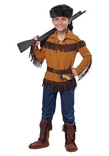 Kids Davy Crockett Costume Large