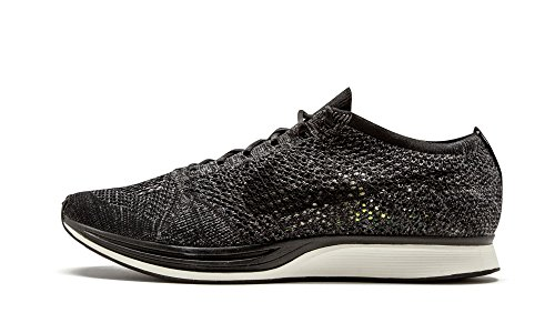 Nike Flyknit Racer Blackout - Black/Black-Dark Grey-Volt Trainer Size 6 UK 7 US