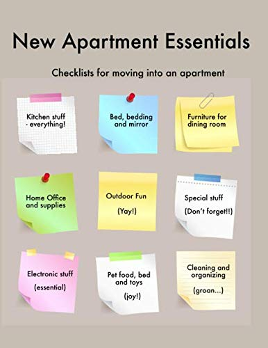 New Apartment Essentials: Checklists for moving into an apartment