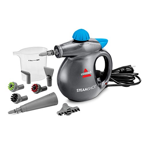 BISSELL SteamShot Hard Surface Steam Cleaner, Multi-Surface Tools Included to Remove Dirt, Grime, Grease, and More, 39N7V