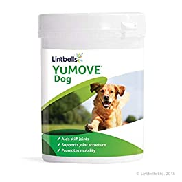 Lintbells YuMOVE Dog Joint Supplement for Stiff and Older Dogs – 600 (2x 300) Tablets