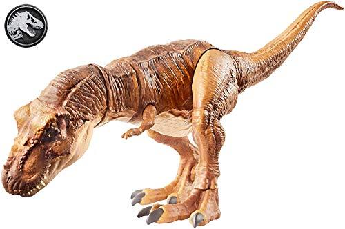 Jurassic World FLN76 - Beißender Tyrannosaurus Rex, Spielzeug ab 4 Jahren