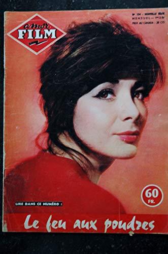 amor Film n° 154 RARE février 1958 COVER Juliette GRECO Le feu aux poudres - Cynthia PATRICK Jill IRELAND