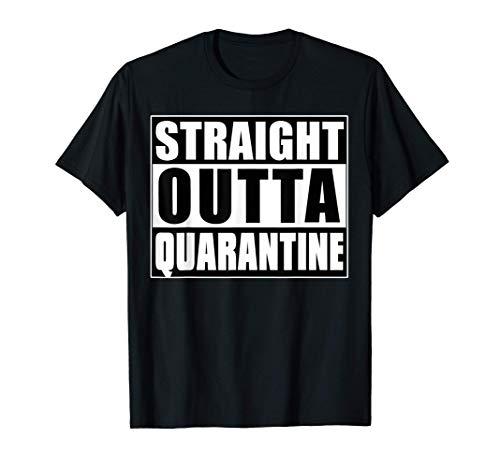 Straight Outta Quarantine 2021 Spring Break T-Shirt