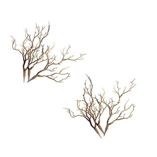 Hongma 6pcs Künstlich Äste Zweige aus Kunststoff Dekor für Blumenvase Zimmer Elegant