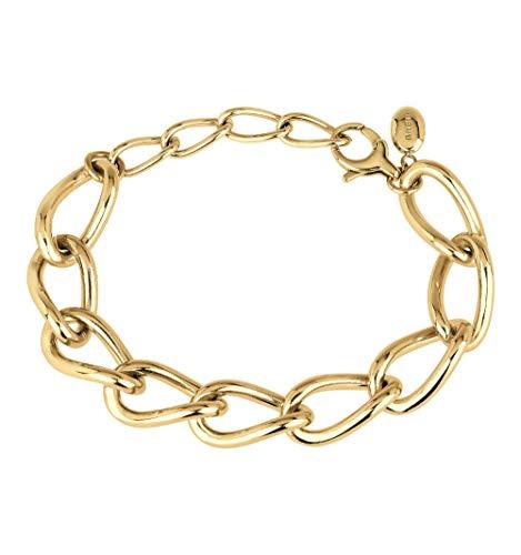 Breil Join Up Armband aus poliertem Stahl IP Gold