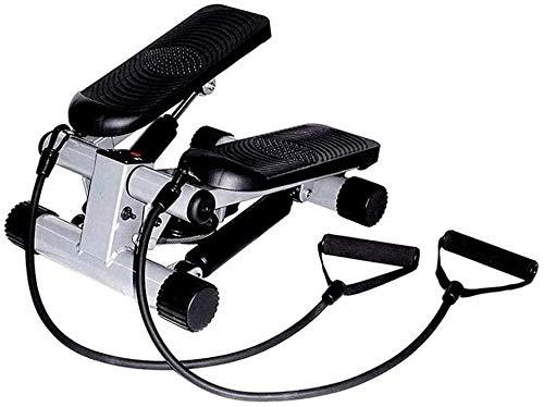 RTUHRJLXJ Interior Home Fitness Aerobic Pedal Mini-Stepper Heimfitness Schwarz Mute Multifunktionsgerät Übung, Gewicht Zu Verlieren