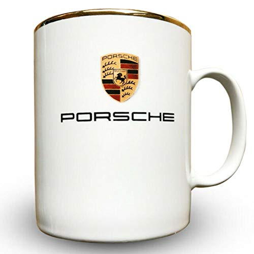 Genuine Porsche Crest Mug- Small 8.5 oz.