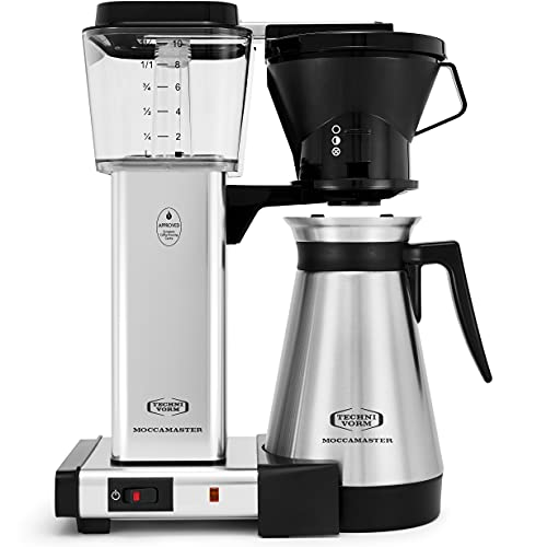 Technivorm Moccamaster 79112 KBT Coffee Brewer, 40 oz,...