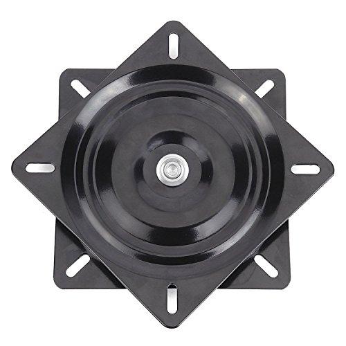Dometool UK Taburete de barra giratorio de repuesto de 8 pulgadas, 360 grados, resistente, para barca, asiento giratorio, placa de montaje con base giratoria, media cuentas de 0,1 cm de grosor