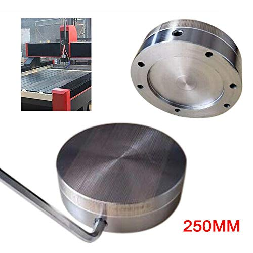 Great Price! Magnetic Chuck 250MM Fine Pole Round Permanent Magnetic Chuck High Precision Uniform Sa...