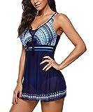 Zando Womens Tummy Control Swimming Suits Swimwear One Piece...