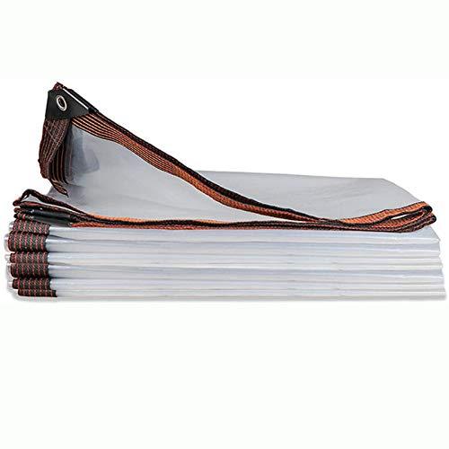 Toldo Plástico Impermeable Lona Cubierta De Película De Película De Polietileno De Plástico Transparente Para Invernadero Protección De Plantas De Jardín Al Aire Libre(6×7m/19.7×22.9ft)