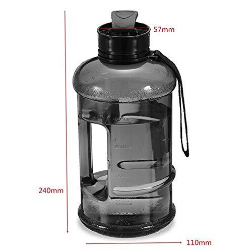 ASR Auslaufsichere PP Trinkflasche Wasserflasche Für Kinder, Schule,Fahrrad,Gym,Yoga 1.3L (B)