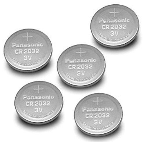 Panasonic CR2032 Knopfbatterie (20-er Pack, 3 V) Silber