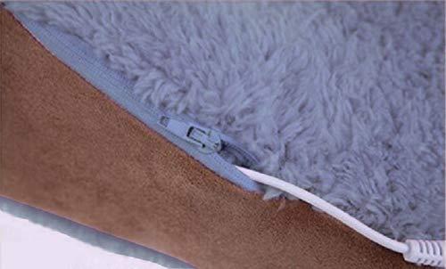 USB充電式フットウォーマー(耐久性アップ)足裏からつま先まで暖めます保温状態で歩行も可能オフィス等での冷え対策にも丸洗いOK(カラー:グレー足のサイズ約24~28cm)