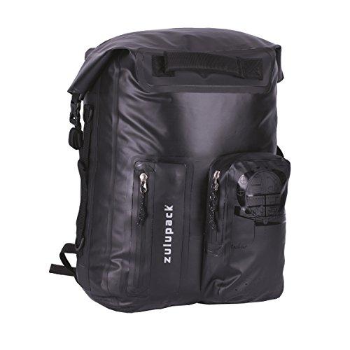 Zulupack Unisex Nomad 35 Pratical Und Handlicher Rucksack, Schwarz