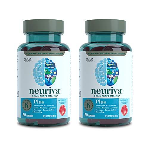 Neuriva Brain Performance Plus - Gomas elásticas (50 unidades, 2 unidades)