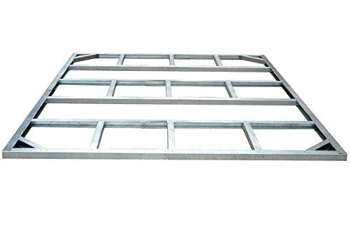 Tepro Metall-Unterkonstruktion, Colossus, silber, 232.2x312.3x5 cm, 7106