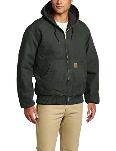 Carhartt Men's Sandstone Active Jacket,Moss,Large