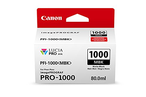 CanonInk Lucia PRO PFI-1000 Matte Black Individual Ink Tank