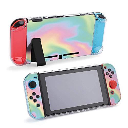 Vector Fondo holográfico compatible con consola Nintendo Sw
