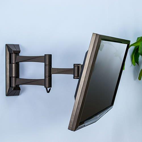 『テレビ 壁掛け 金具 STARPLATINUM 液晶 TV モニター 13-32インチ対応 TVセッターFS NA113 SSサイズ シルバー』の6枚目の画像